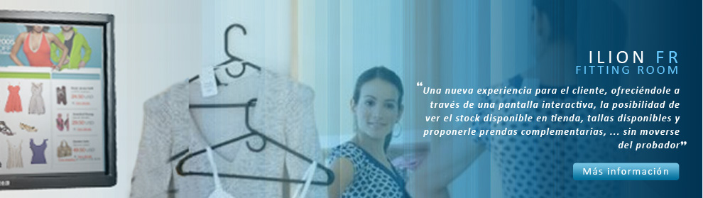 ILION Fitting Room - Probador virtual para tu tienda.